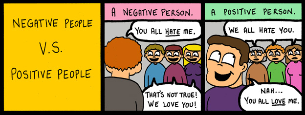 Positive People Vs. Negative People