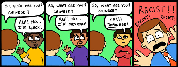 What Are You? Chinese?